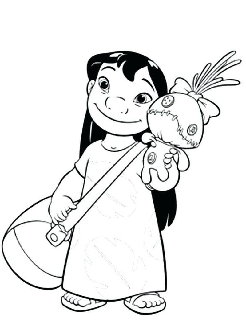 cute coloring pages of stitch