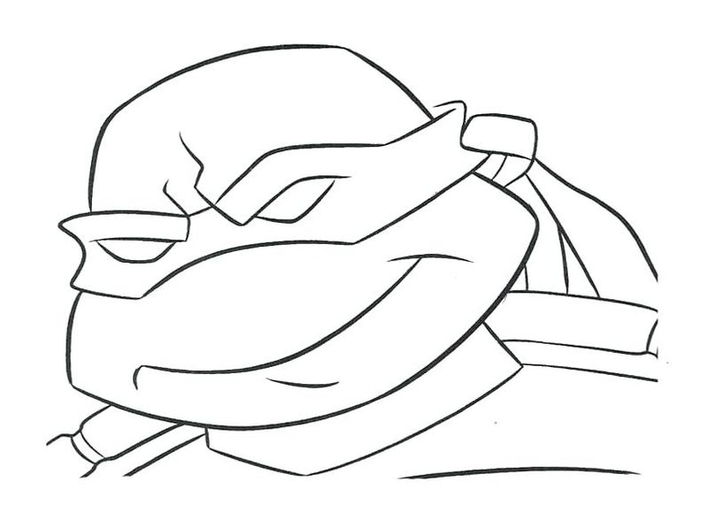 cute ninja turtle coloring pages