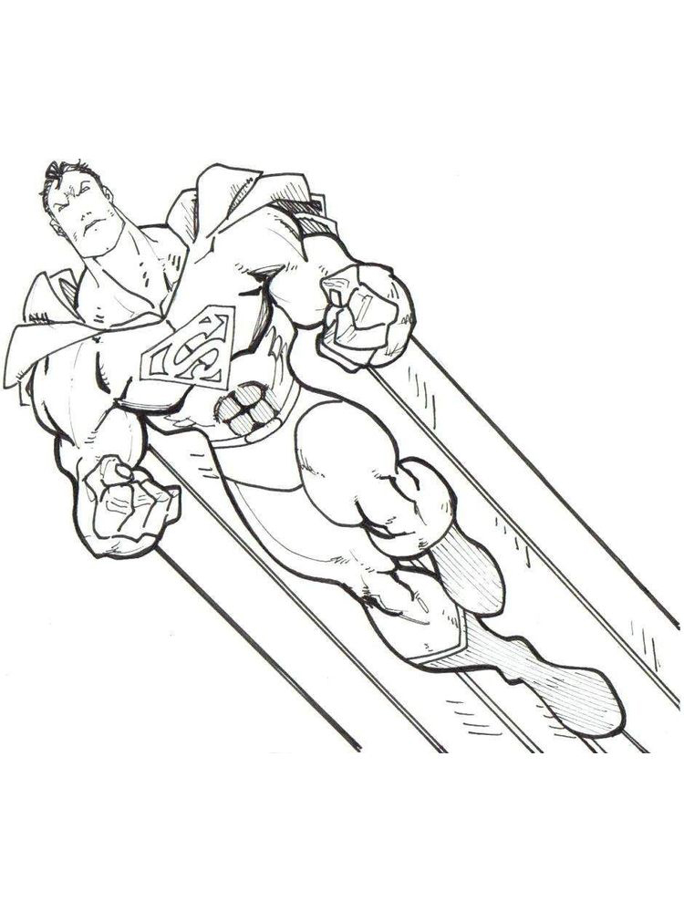 dc comic coloring pages