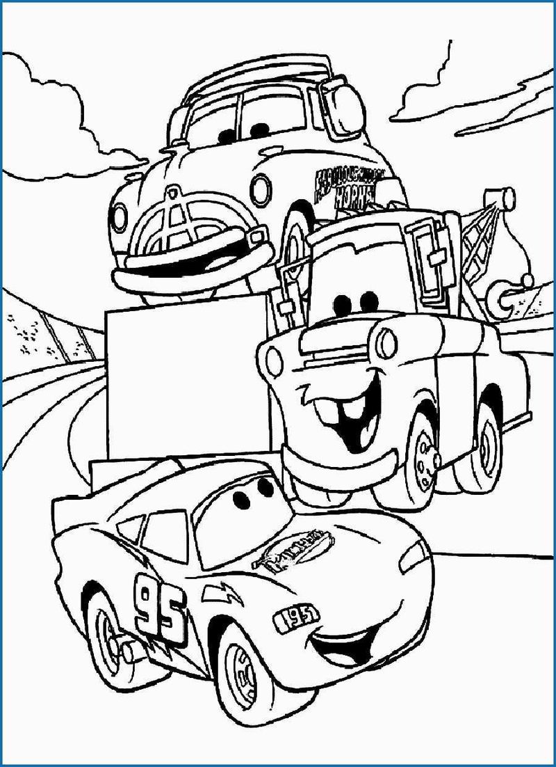 disney cars 3 coloring pages001