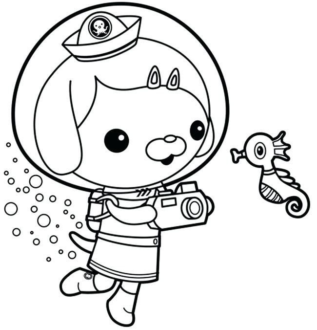 disney jr octonauts coloring pages free