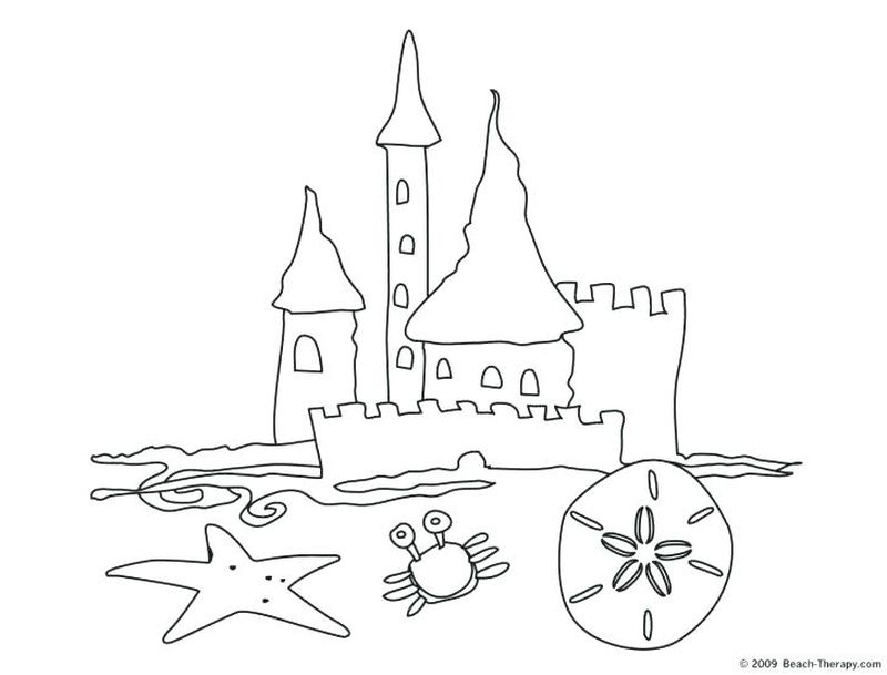 disneyland castle coloring pages free