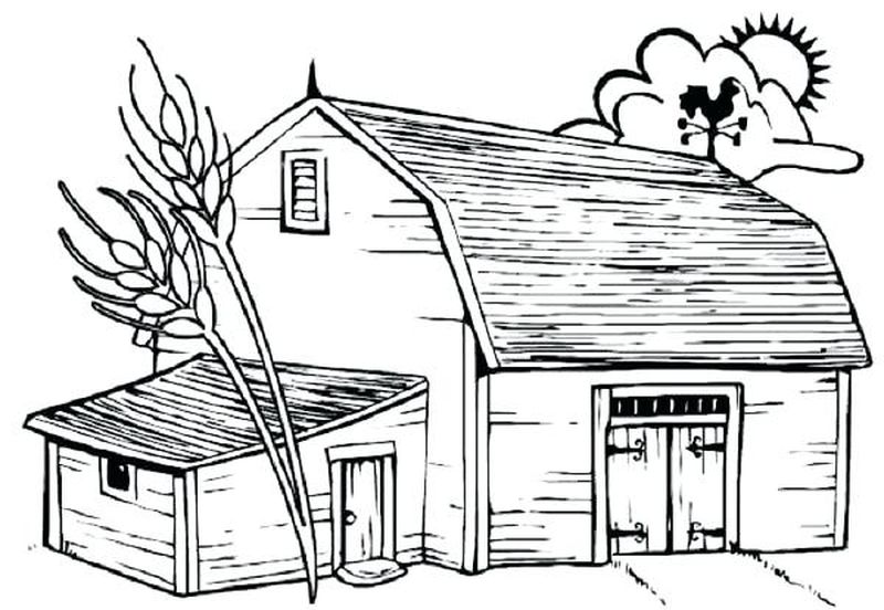 dltk farm animal coloring pages