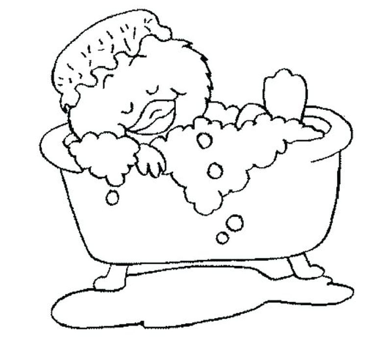 duck coloring book pages