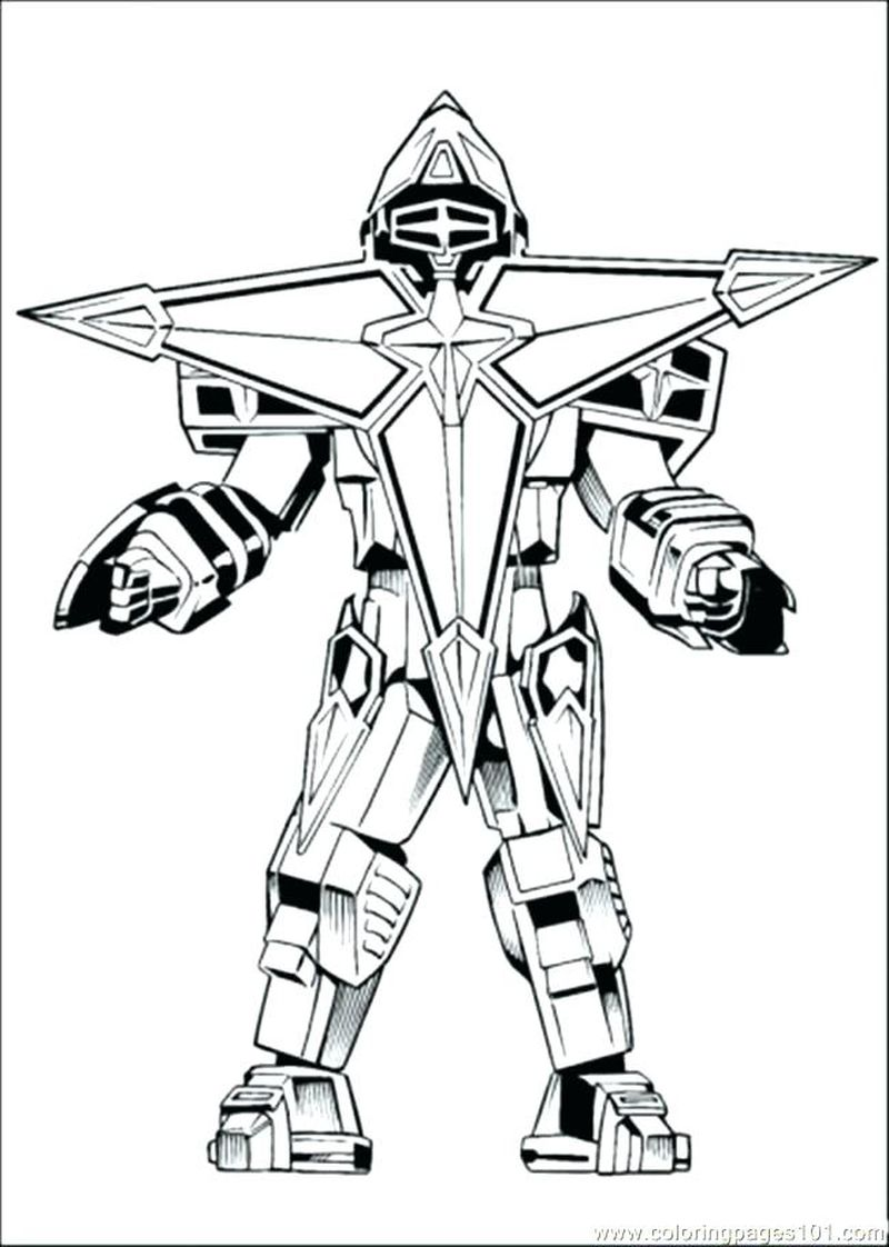 educational robot coloring pages