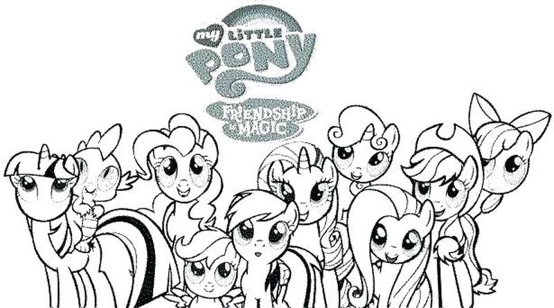 equestria colouring pages
