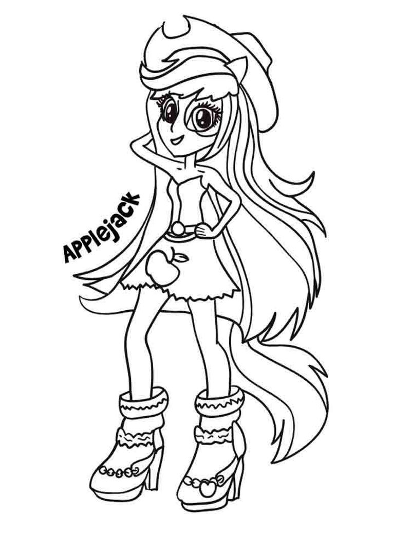 equestria girl rainbow dash coloring pages