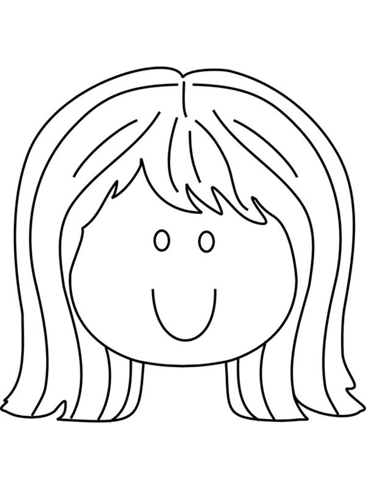 face coloring page zentangle