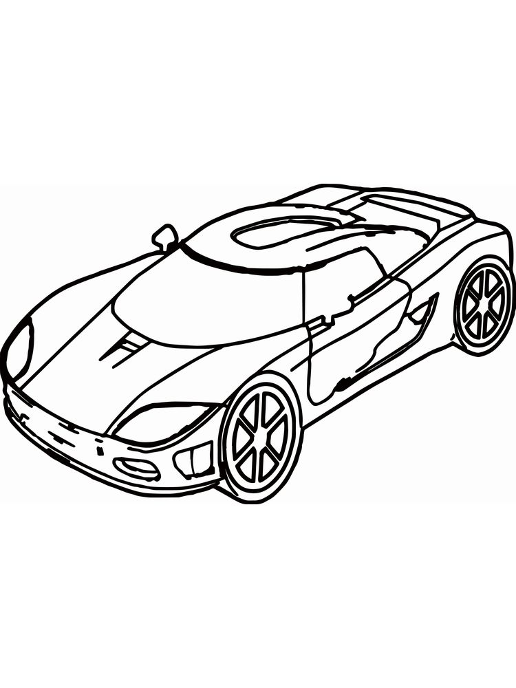 ferrari california coloring pages