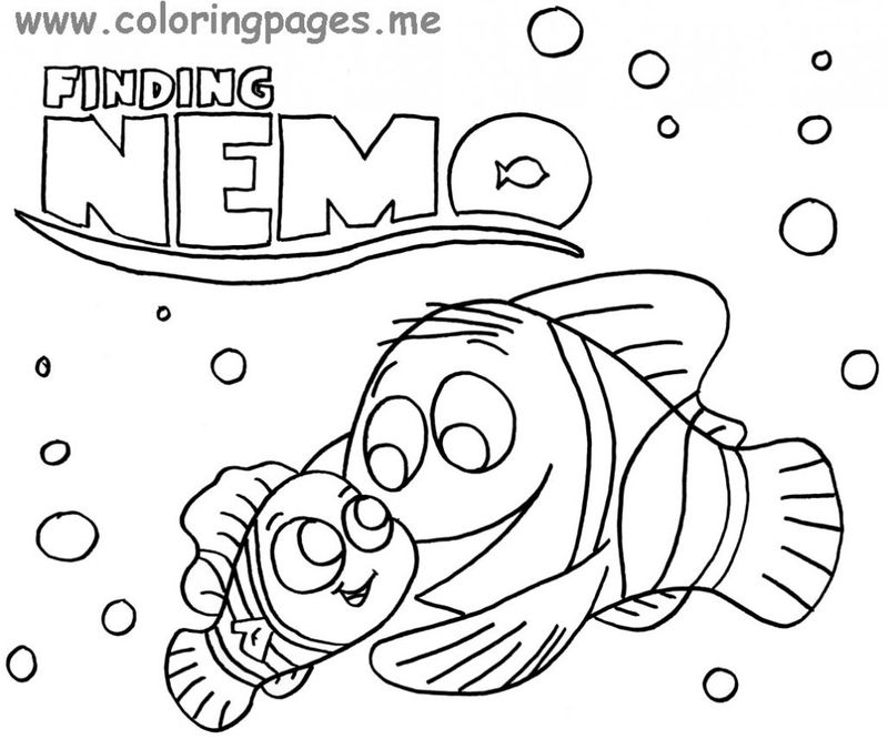 finding dory destiny coloring pages