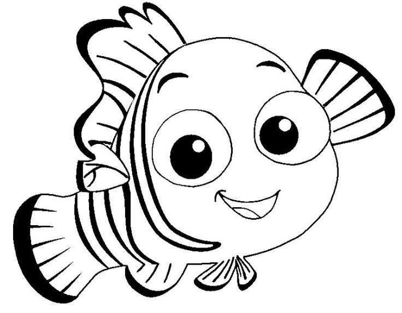 finding nemo and dory coloring pages