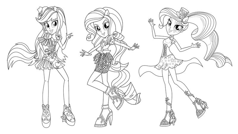 fluttershy equestria girl coloring page
