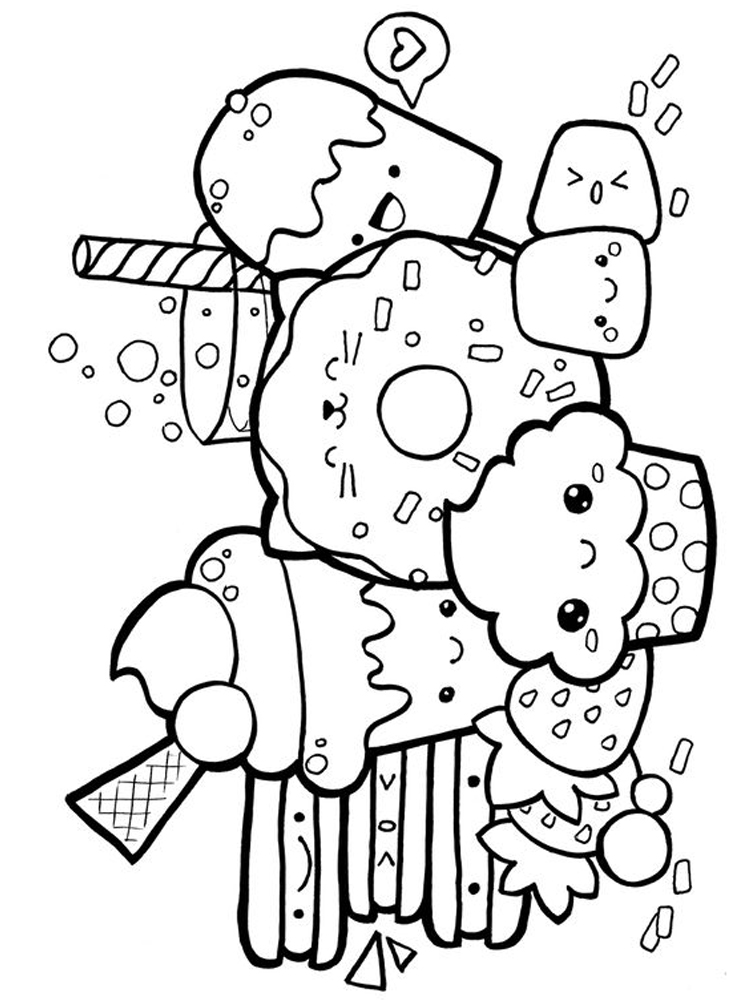 food and nutrition coloring pages