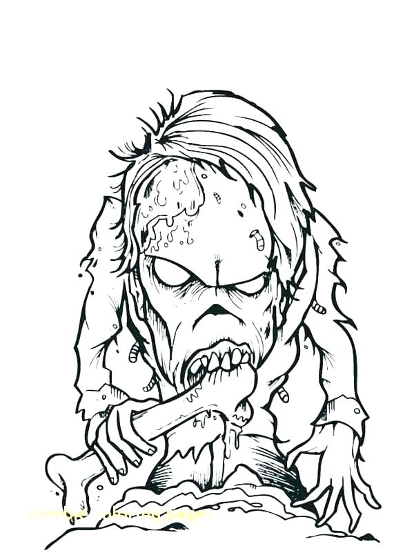 fortnite zombie coloring pages
