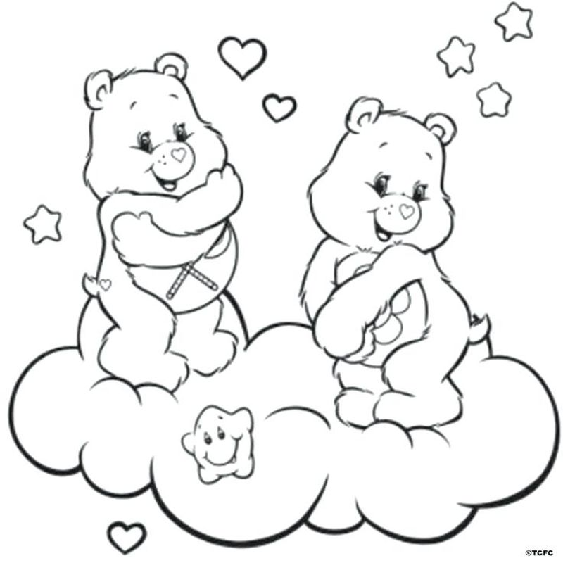 free Baby Hugs Care Bear Coloring Pages
