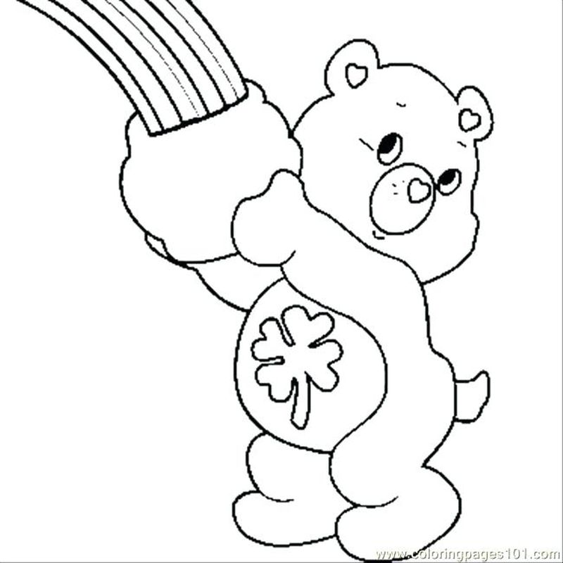 free Best Friend Care Bear Coloring Pages