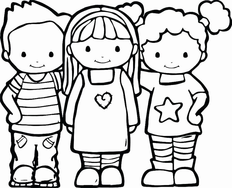 free Best Friend Coloring Pages For Teenagers pdf