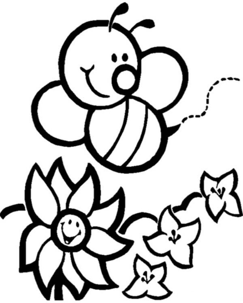 free bumblebee coloring pages