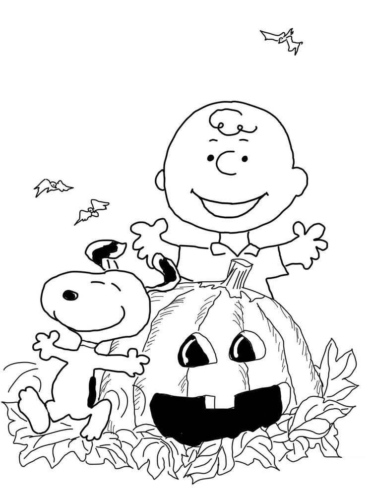 free coloring pages charlie brown christmas