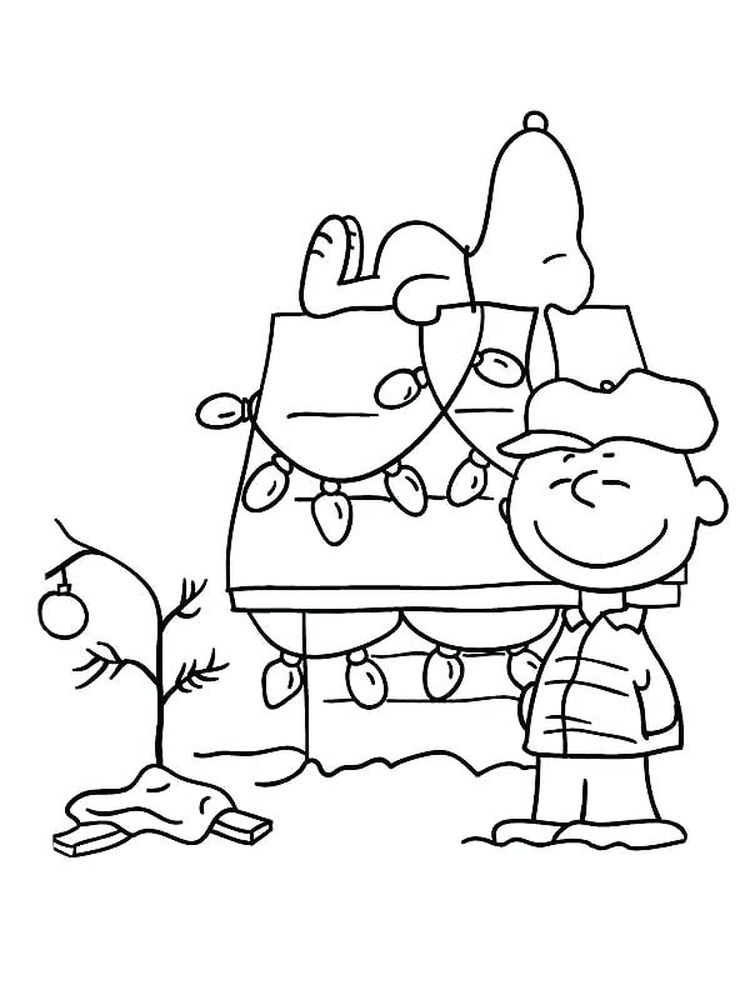 free coloring pages charlie brown