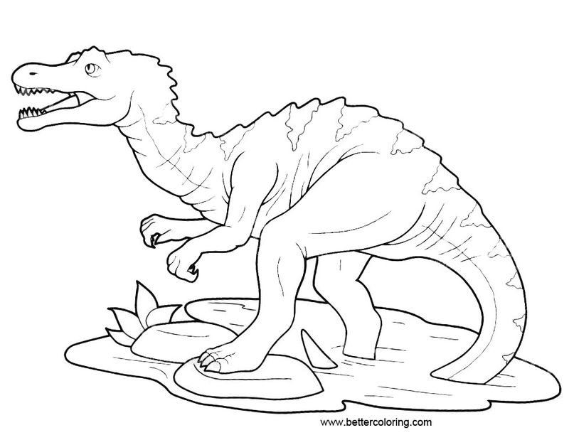 free coloring pages of jurassic world