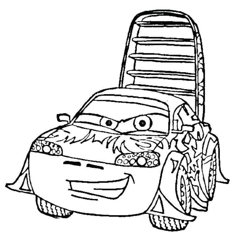 free colouring pages cars free