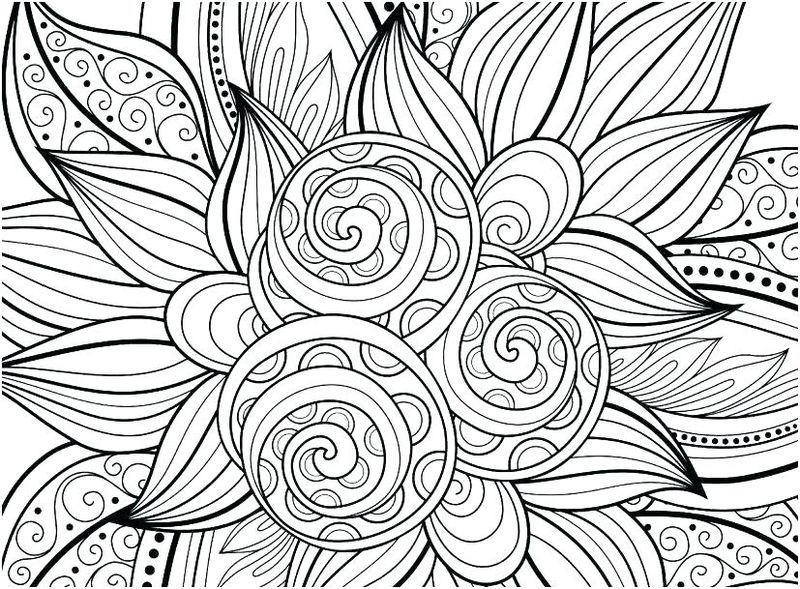 free geometric coloring pages pdf
