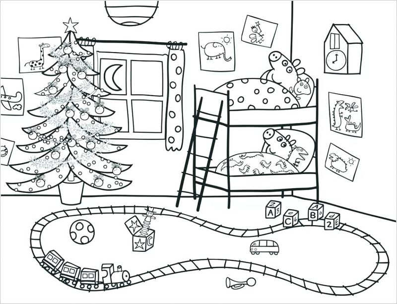 free pig coloring pages for adults