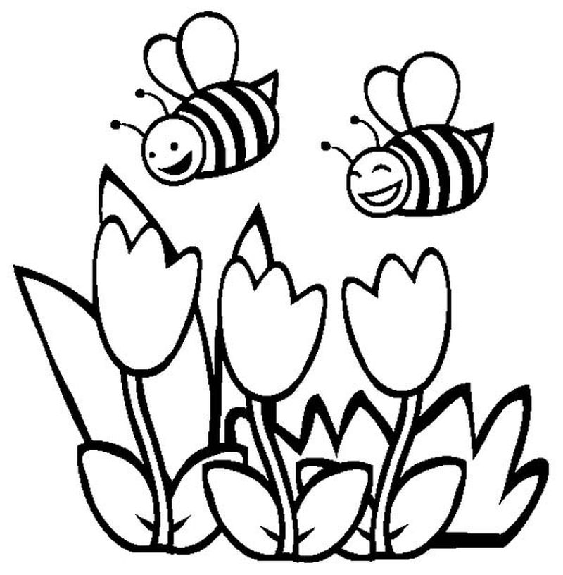 free printable bumblebee coloring pages