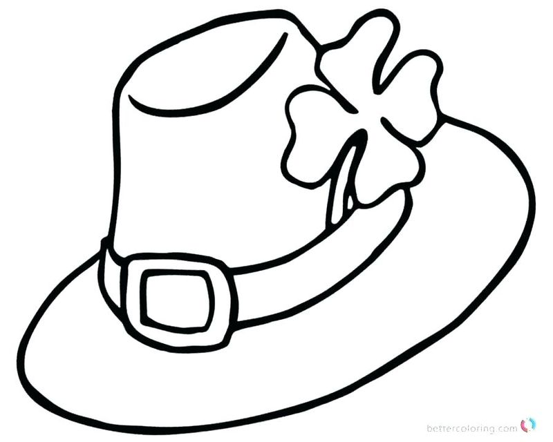 free shamrock coloring pages for adults