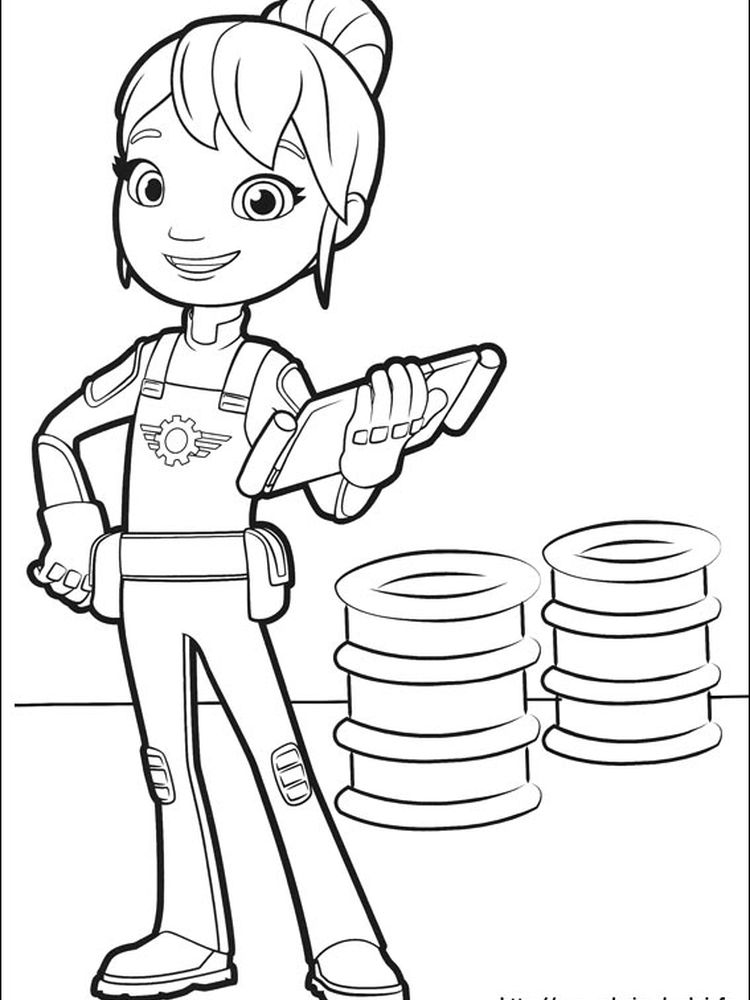 gabby coloring page