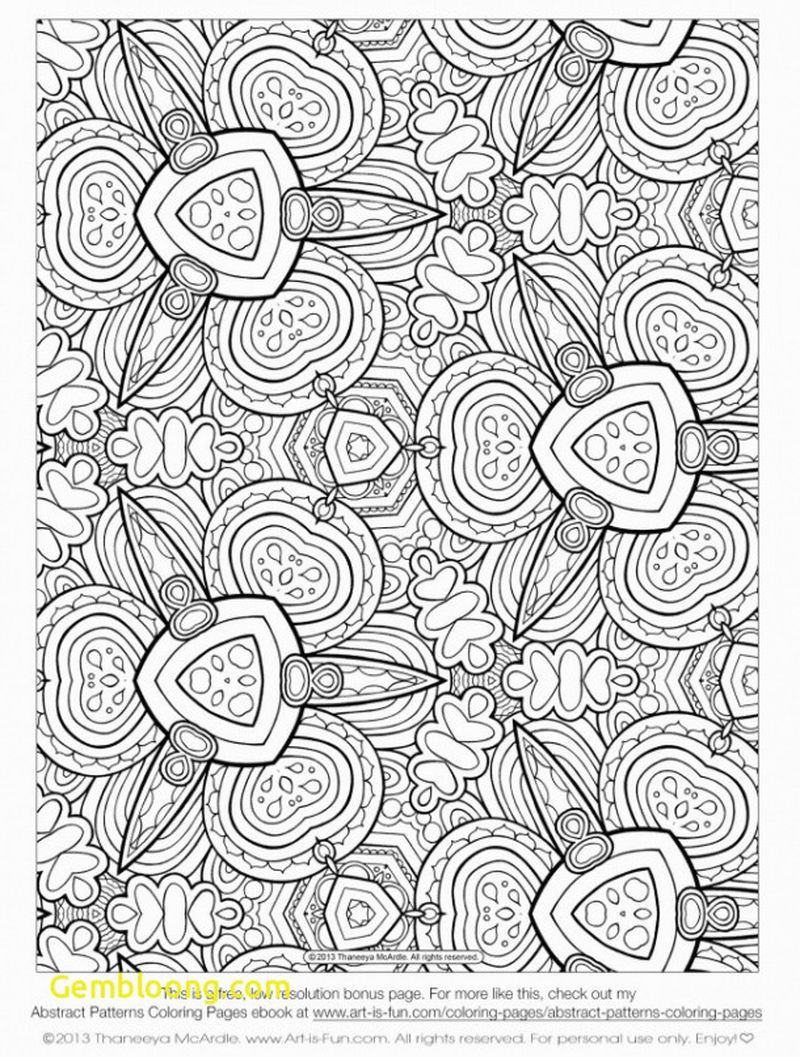 geometric coloring pages free