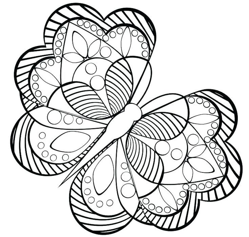 geometric coloring sheets for adults