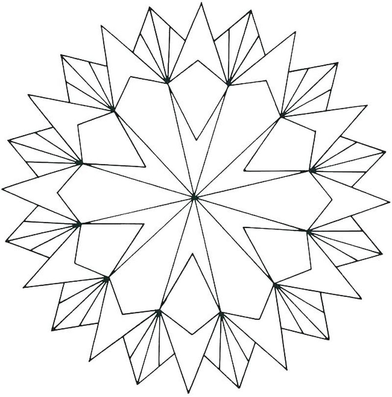geometric coloring sheets free