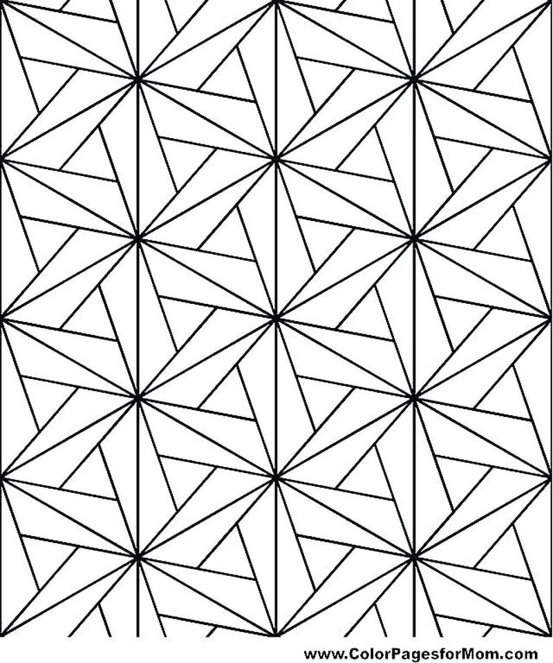 geometric mandala coloring pages