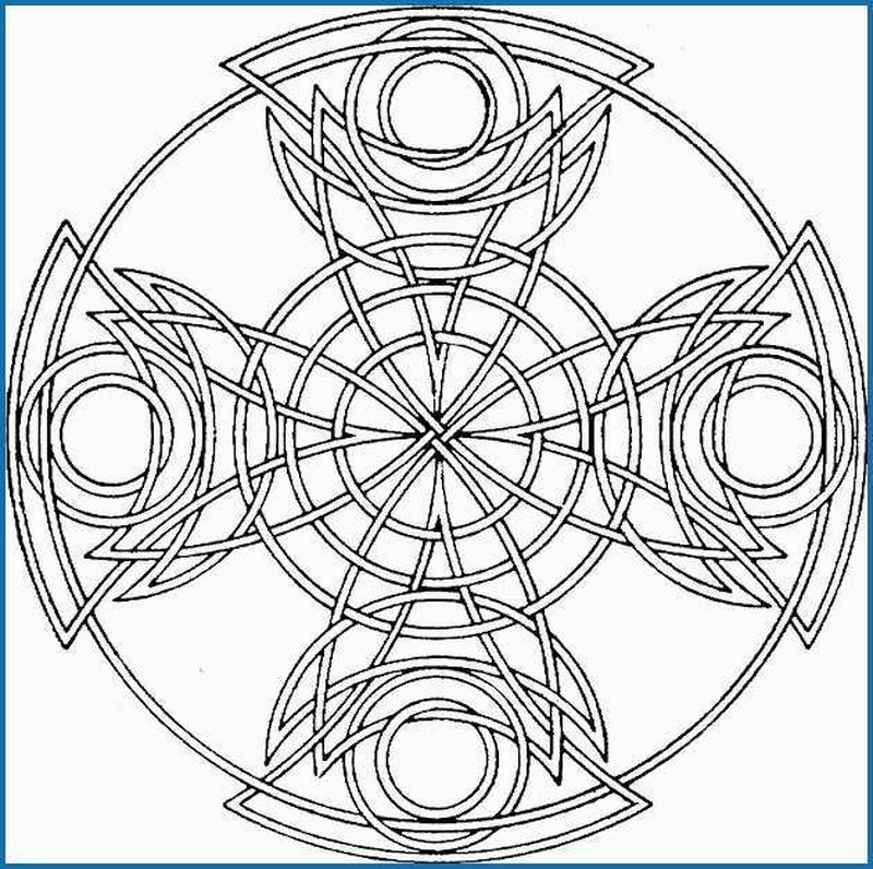 geometric shapes coloring pages kindergarten