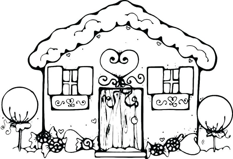 gingerbread man coloring page for kindergarten