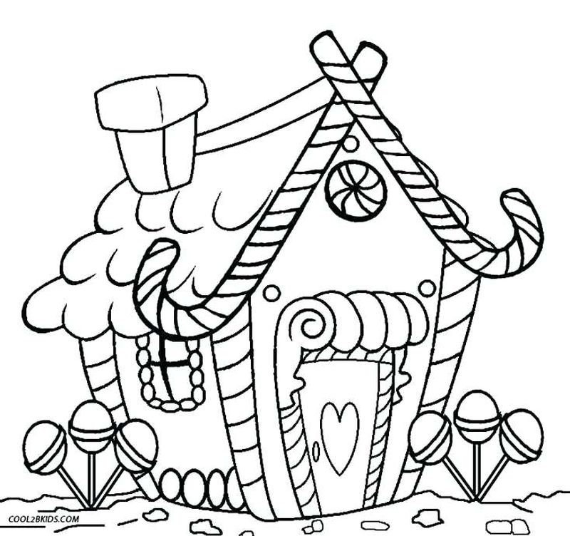 gingerbread man coloring page free printable