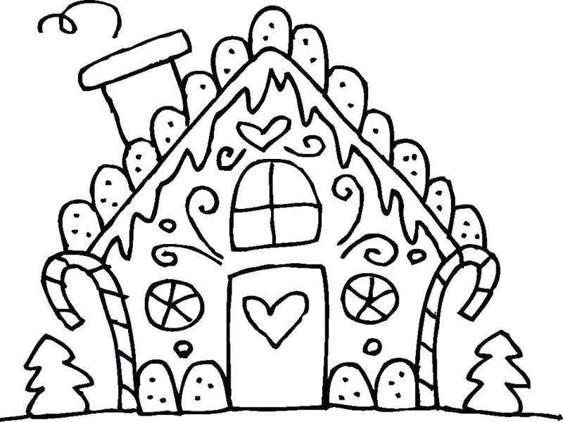 gingerbread man coloring pages pdf