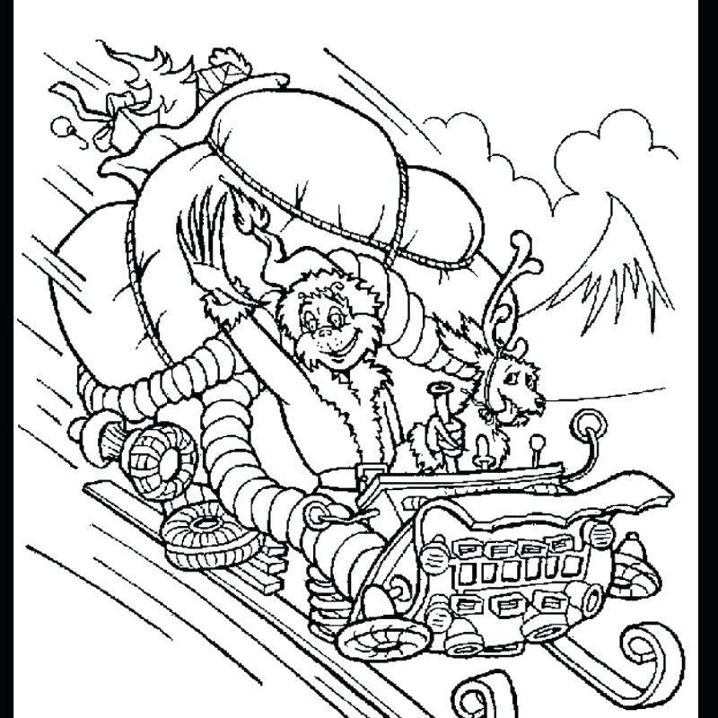 grinch whoville coloring pages