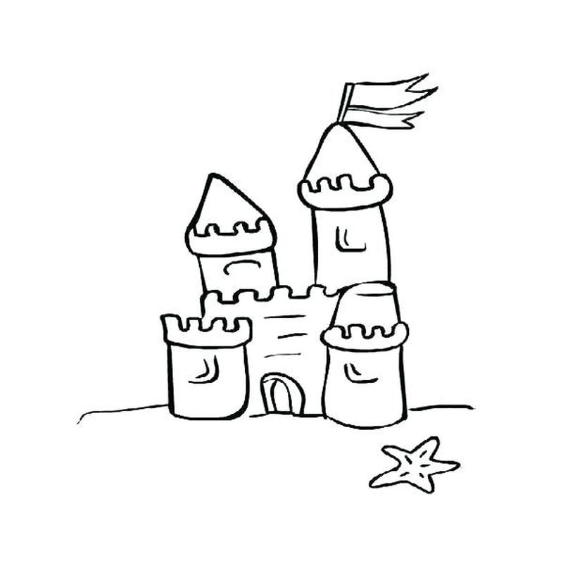 halloween castle coloring pages