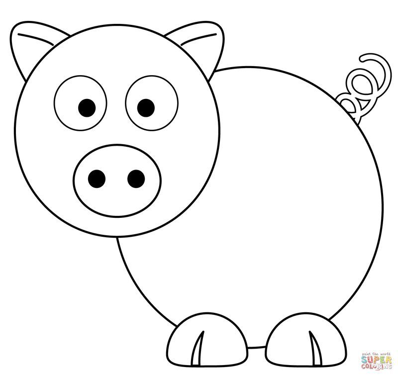 happy birthday peppa pig coloring pages