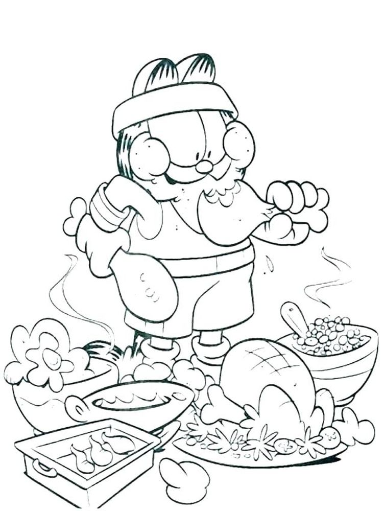 healthy and unhealthy food coloring pages