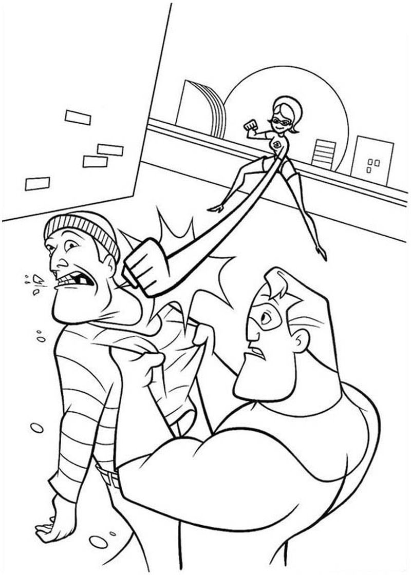incredibles 2 giant coloring pages