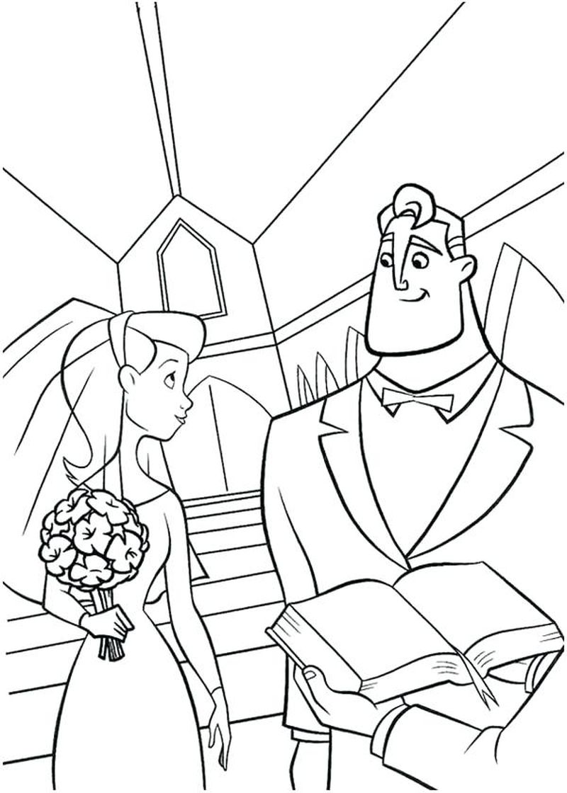 incredibles coloring pages printable