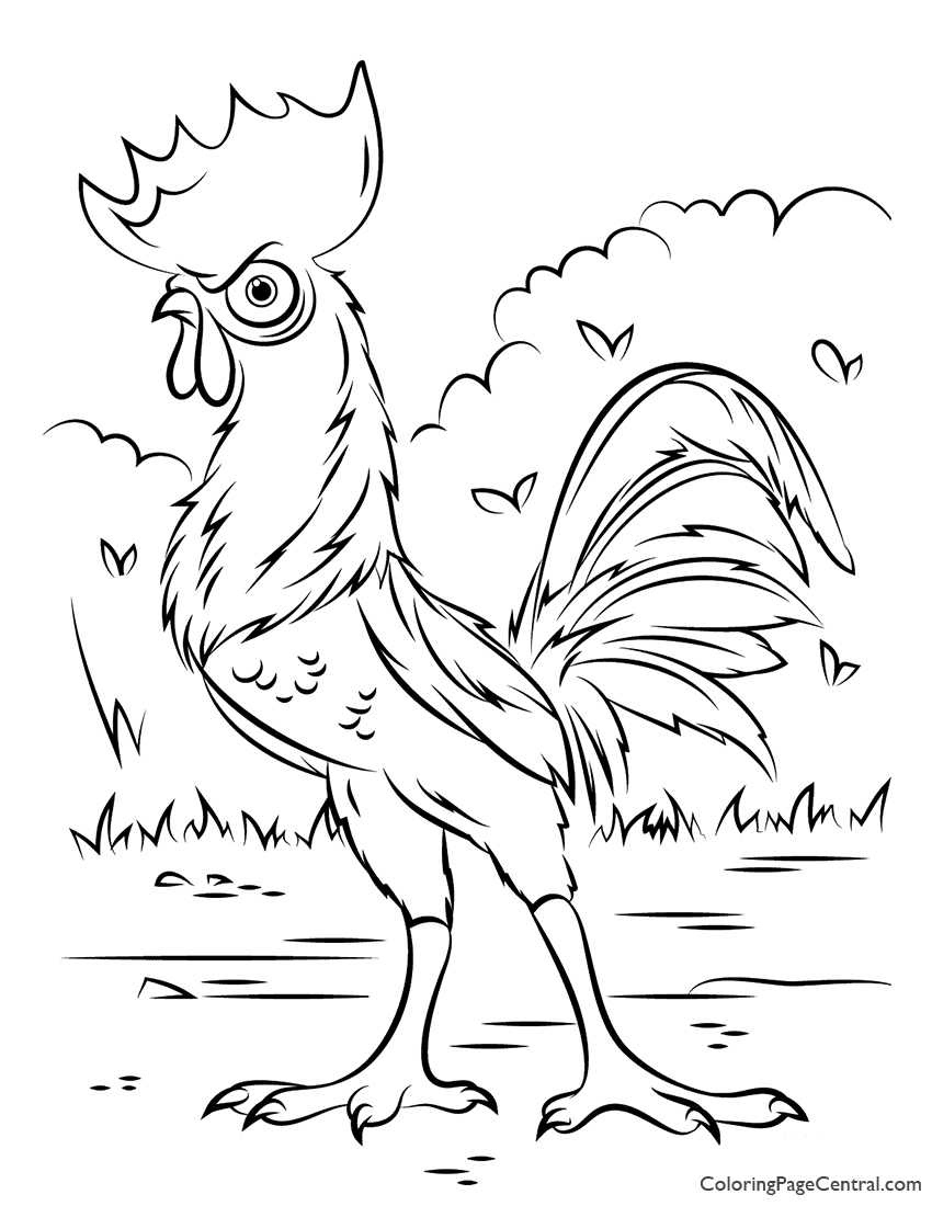 interrupting chicken coloring pages