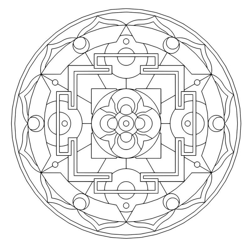 islamic geometric patterns coloring pages