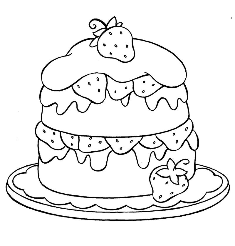 jessie cake coloring pages