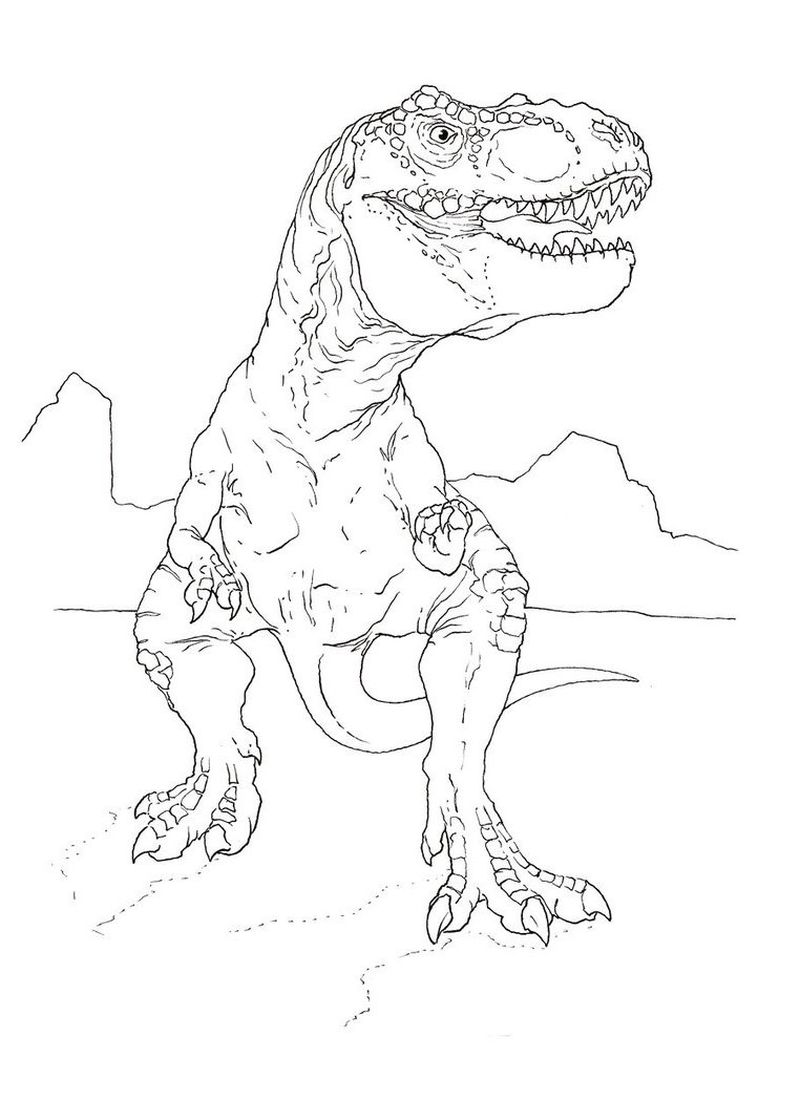 jurassic world blue raptor coloring pages