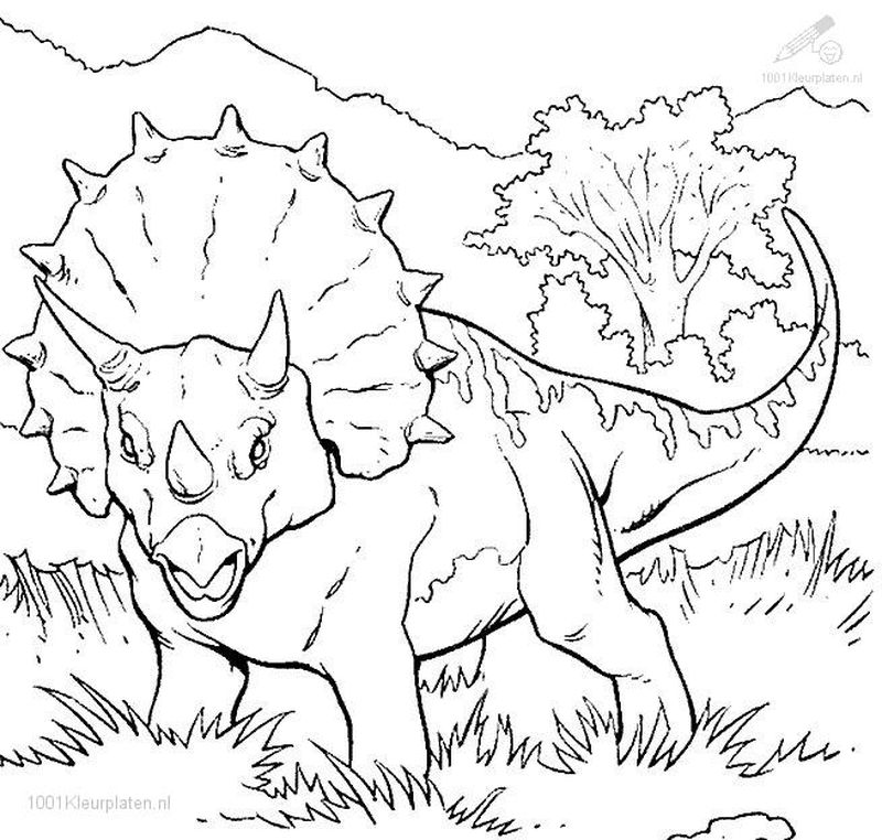 jurassic world carnotaurus coloring pages
